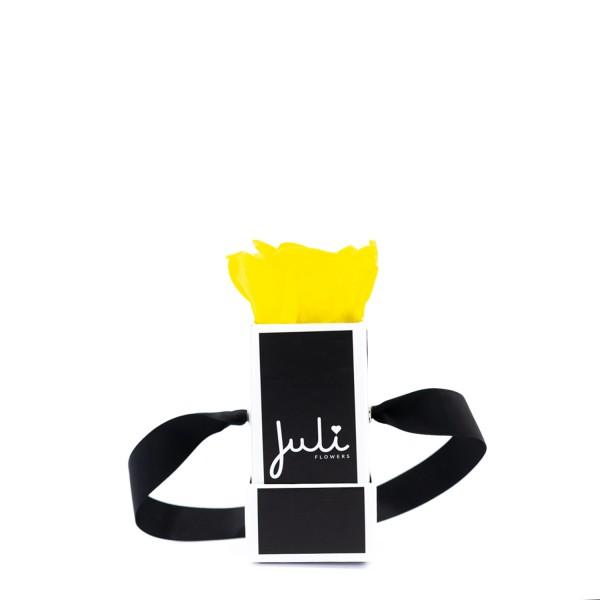 Gelb Mini Schwarz - quadrat
